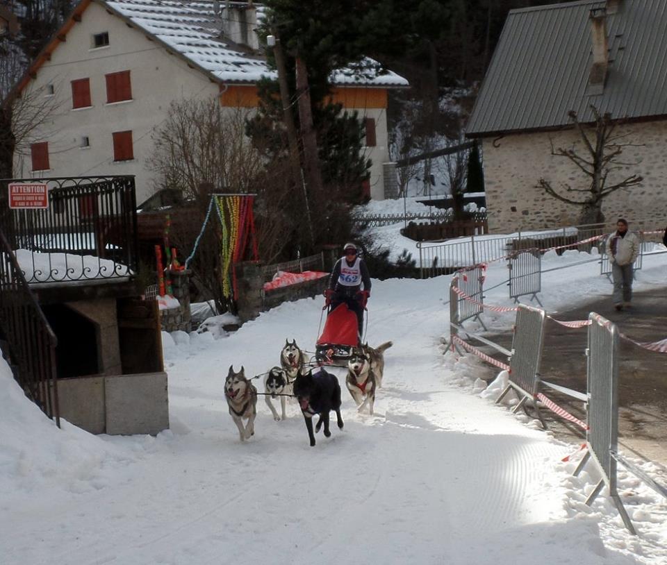En course sur la Valgaude