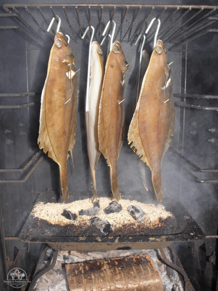 Gebratener Bakskuld auf Roggenbrot Kulinarischer Adventskalender
