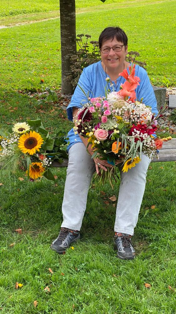 Lina Kurth, Ehrung für 38 Jahre Samariterlehrerin