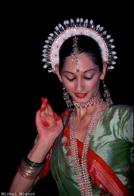Églantine Bisserier, danseuse odissi.