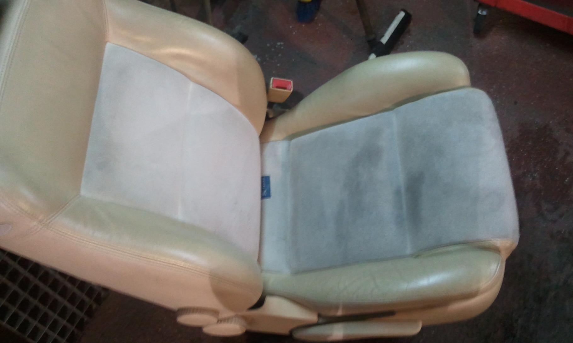 mismo asiento Ya desmontado fuera del coche