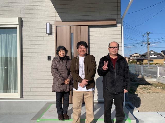 小野島町の建物の引渡し