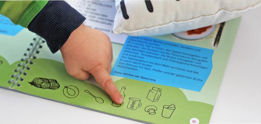 Kinderkochbuch mit Monstern aus dem Kindergarten Todendorf, kaufen über www.die-kleine-designerei.com