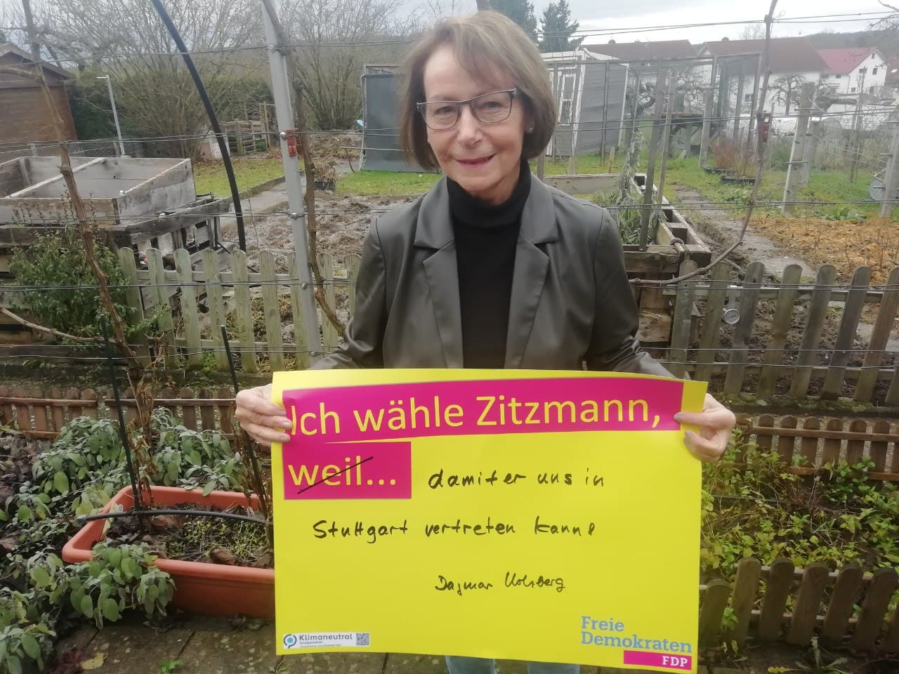 Dagmar Holzberg, Rektorin i. R.