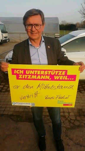 Rudi Fischer, MdL