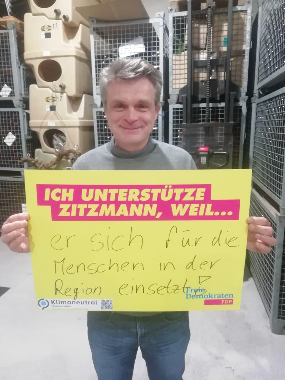 Oliver Martin, Unternehmer, FDP-Bundestagskandidat