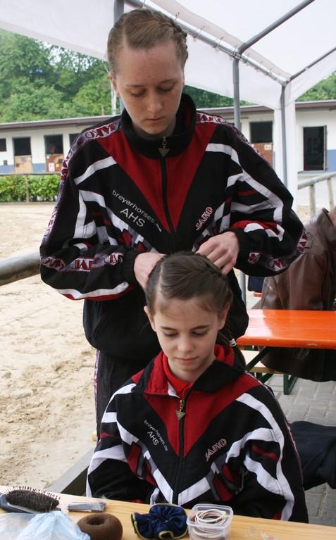 Frisuren sind wichtig ...
