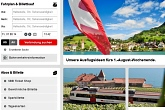 Fahrplan Schweizer Bahn SBB