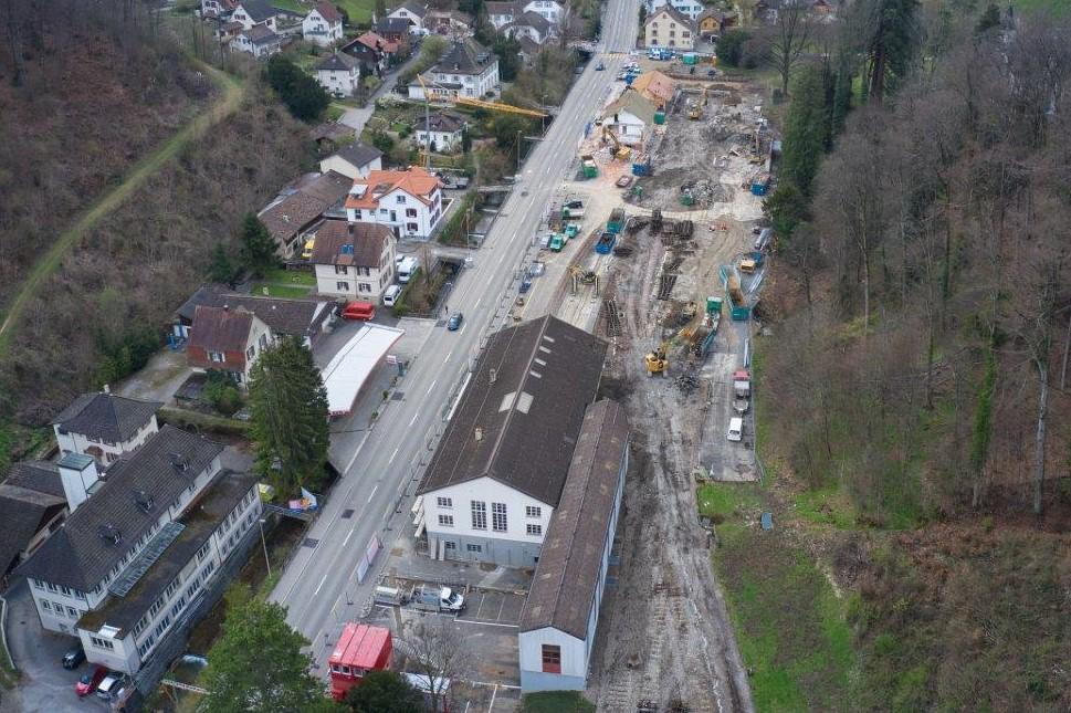Grossbaustelle Waldenburgerbahn