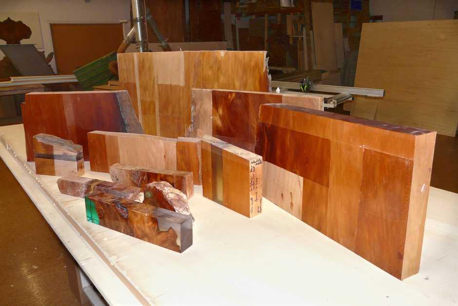 Qailitativ hochwertige Holztische, Esstische, Massivholztische durch beispiellose Versuche, beständige Oberfläche der Kauri Tischplatten