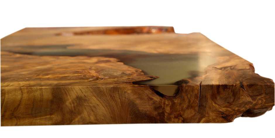 Kunstvolle Skulptur Kauri Tischplatte, außergewöhnliche Holzkunst im Holztisch, Esstisch und Couchtisch, kunstvolle Tische, Kunstwerk aus Natur Wurzelholz