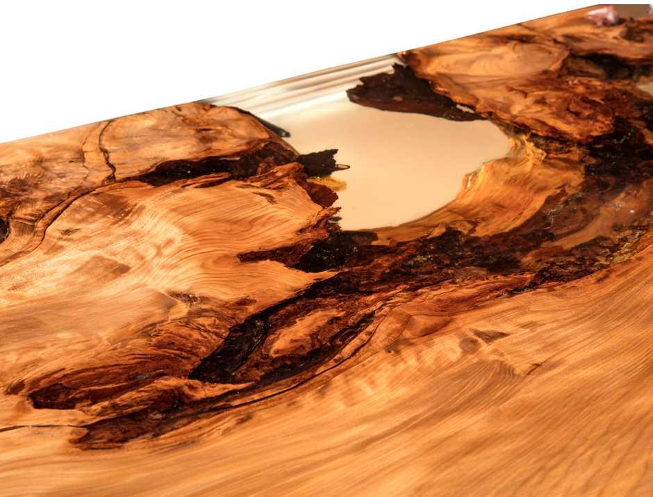Kauri Tischplatte, einzigartiges Möbel Konferenztisch, natürlicher Baumtisch, Natur Kunstwerk Holztisch aus Wurzel Stamm Naturwuchs , extravaganter Designer Naturholztisch