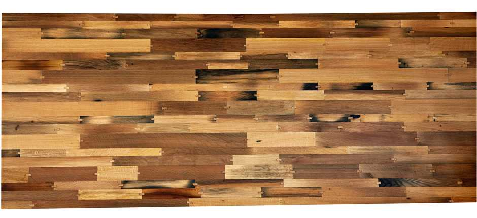 Esstisch - außergewöhnlich und exklusiv, Massivholz Tischplatte vom Weintisch mit hochwertiger Oberfläche, anmutiger Massivholztisch aus alten Eiche Rotweinfässern