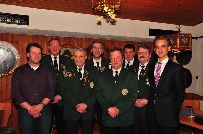 Jens Habig, Rolf Gilgen, Alexander v.Rothkirch, Lothar Strobl, Peter Müller, Ralf Vetter, Joachim Becker, Sebastian Haak