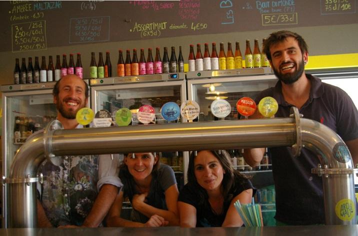 Les 4 créateurs du Bar à bières, Brasserie artisanale, Restaurant proche de Chambéry