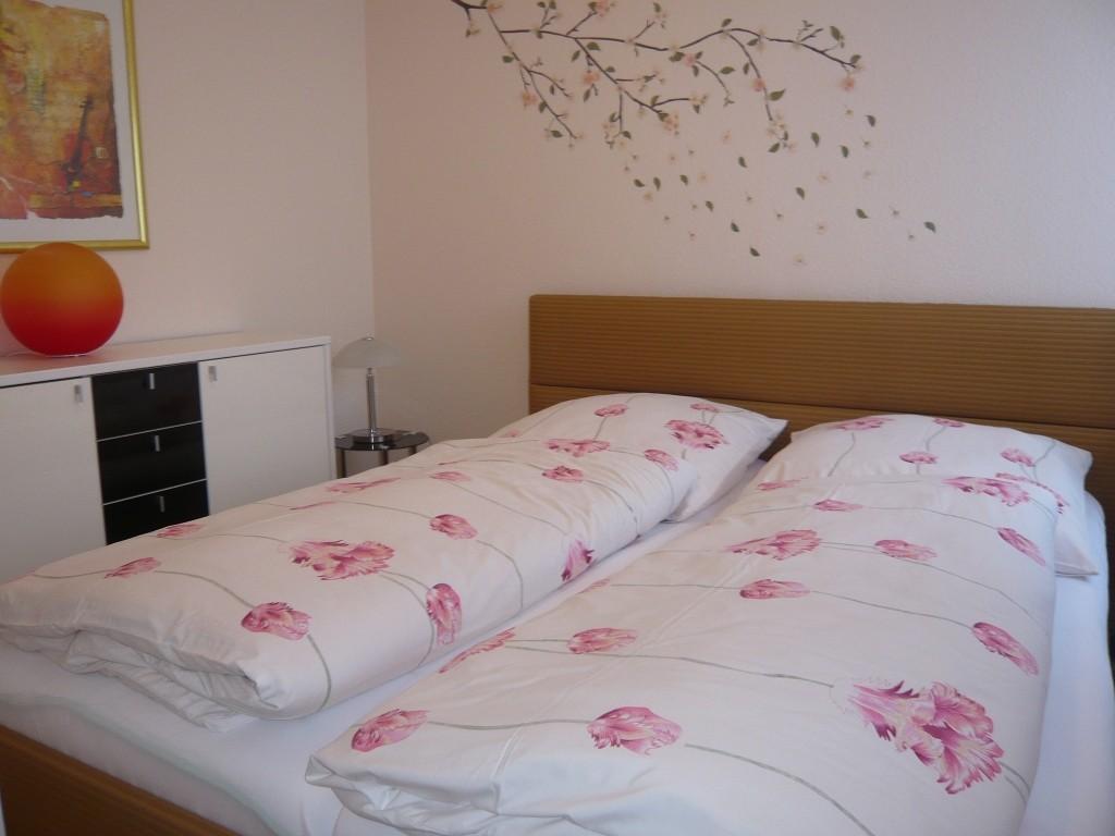 Schlafzimmer Nr. 1 mit Doppelbett