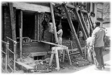 Umbau Kluserstübli in den 50er Jahren