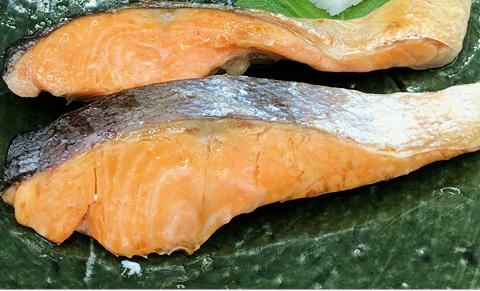チリ産 熟成甘塩銀鮭 2切