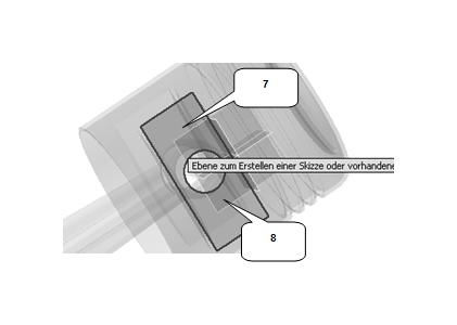 Geometrie projizieren