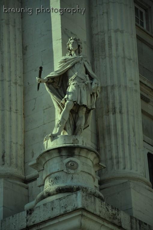 detail of palacio real I