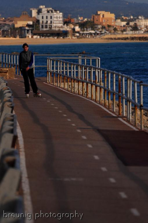 sportive waterfront in palma de mallorca