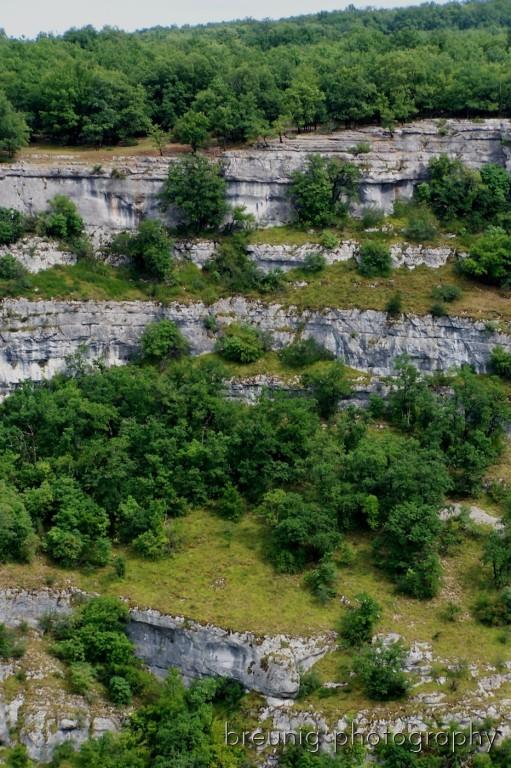 rocks near rocamadour