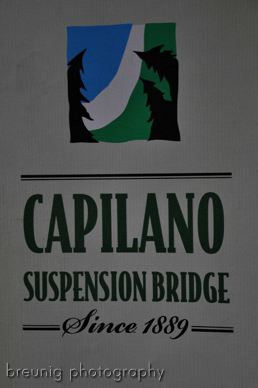 capilano suspension bridge I