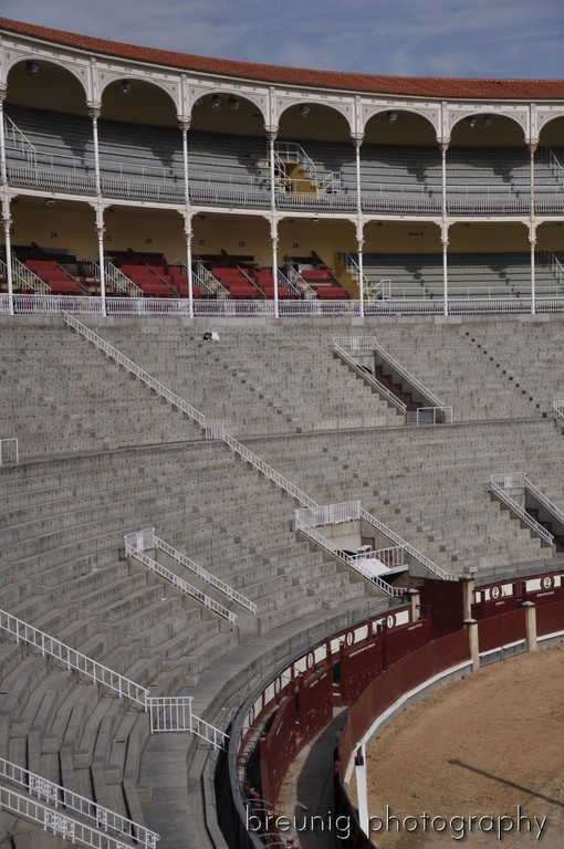 visiting the world's largest bull fight arena: las ventas