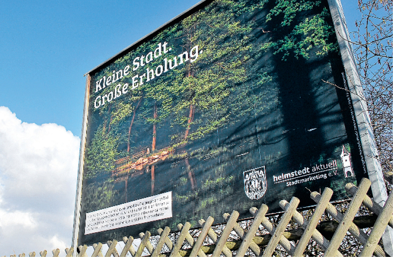 Imagekampagnen, Großflächen- & Außenwerbung