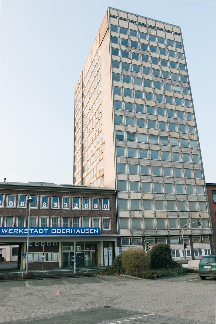 Ehemaliges Babcock Hochhaus | Oberhausen