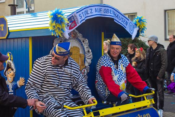 Karneval in Oberhausen, Blaue Funken