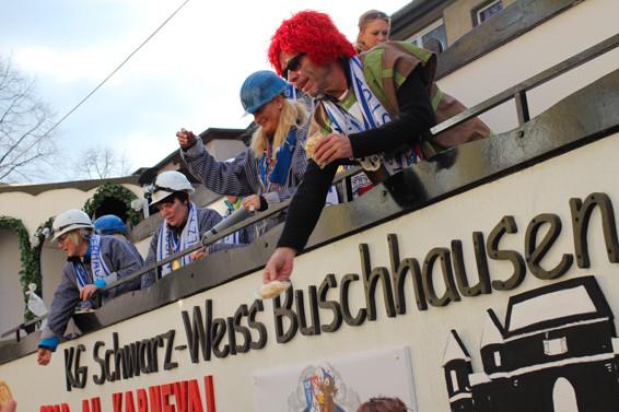 Karneval in Oberhausen KG Schwarz Weiss Buschhausen