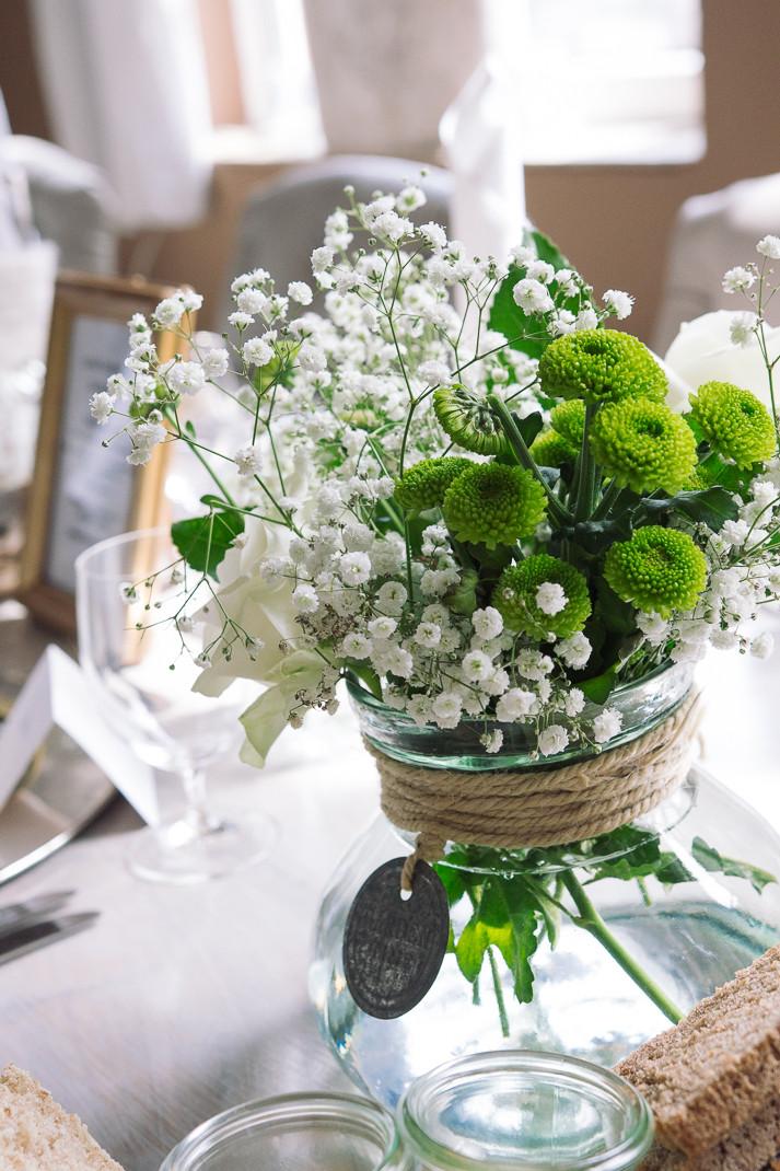 Hochzeitsfotografie Tischdeko