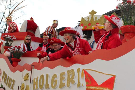 Karneval in Oberhausen Prinz Holger I