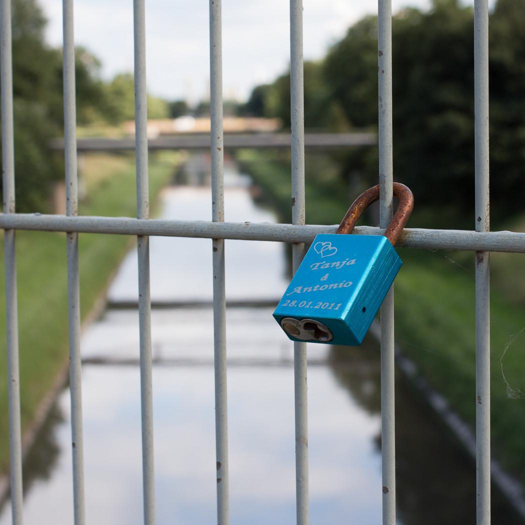 Emscherbrücke. HOAG Trasse Oberhausen.