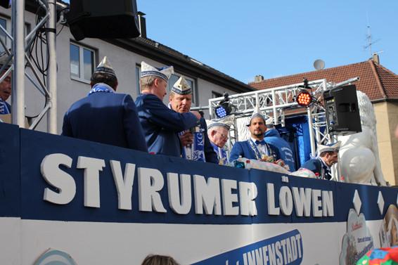 Karneval in Oberhausen, Styrumer Löwen