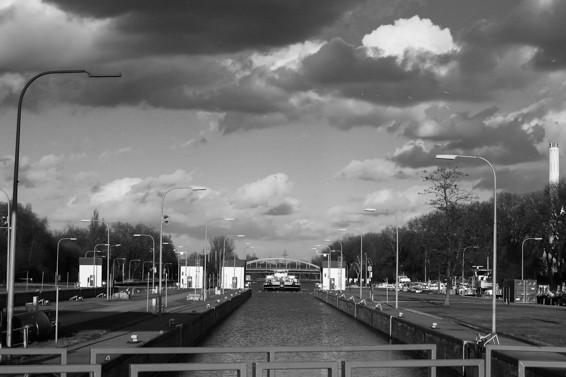 Rhein Herne Kanal, Schleuse Oberhausen
