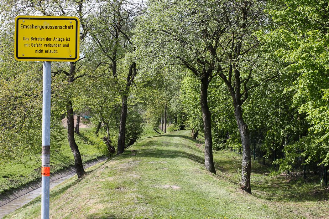 Hauptkanal Oberhausen Sterkrade