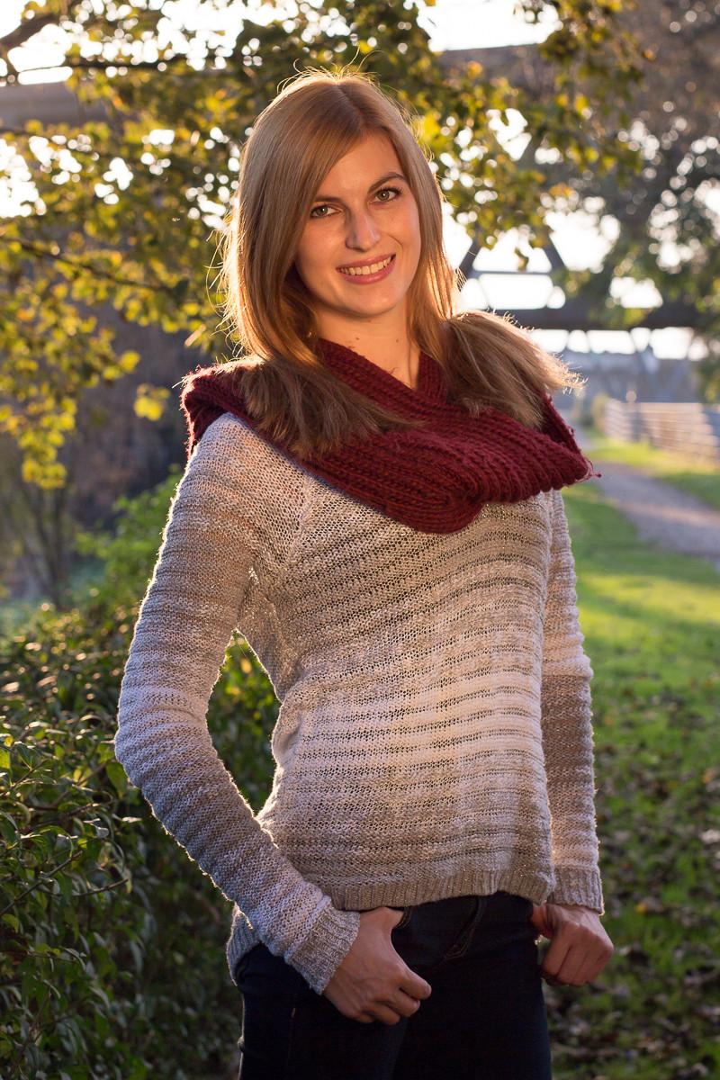 Gina, Herbst Portrait