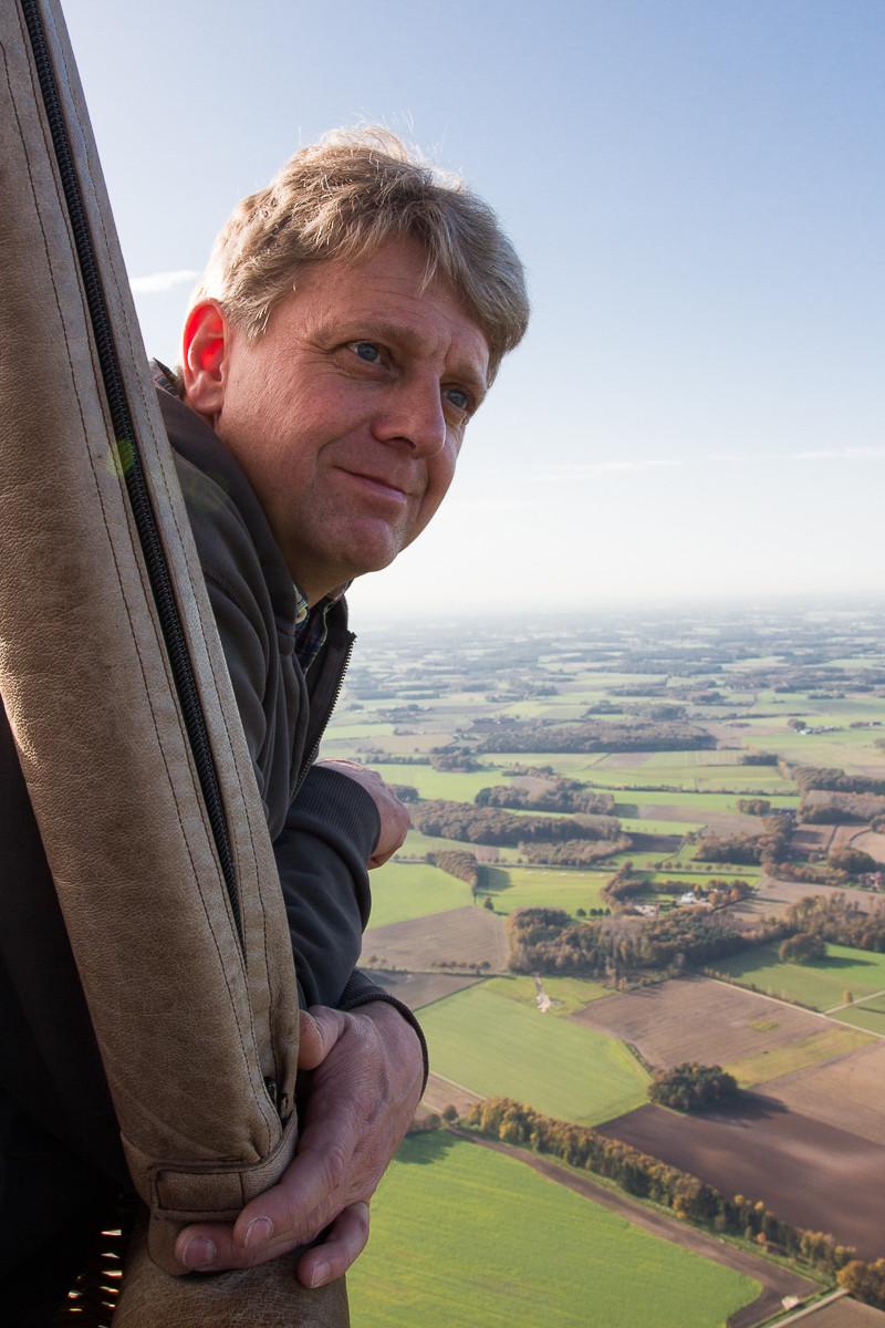 Mit dem Heißluftballon vom Niederrhein nach Westfalen Mitfahrer