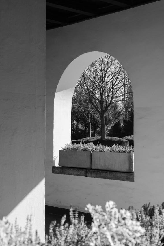 Kapelle des Westfriedhof Oberhausen. Gebaut in den 1920er Jahren.