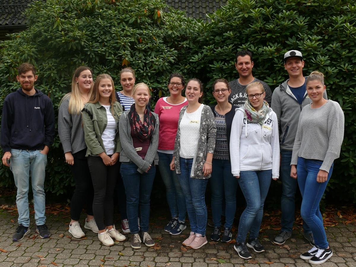 Nach einem schönen Tag verabschiedeten wir und von Johanna und Philipp von der KLJB Köln, die uns den Rätselspaß ermöglicht haben