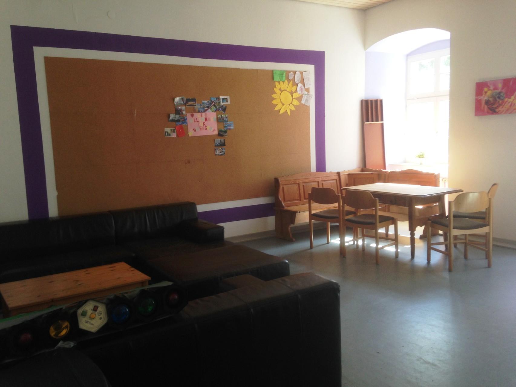 Der zweite Raum, besonders gern von unserer Mädchengruppe genutzt