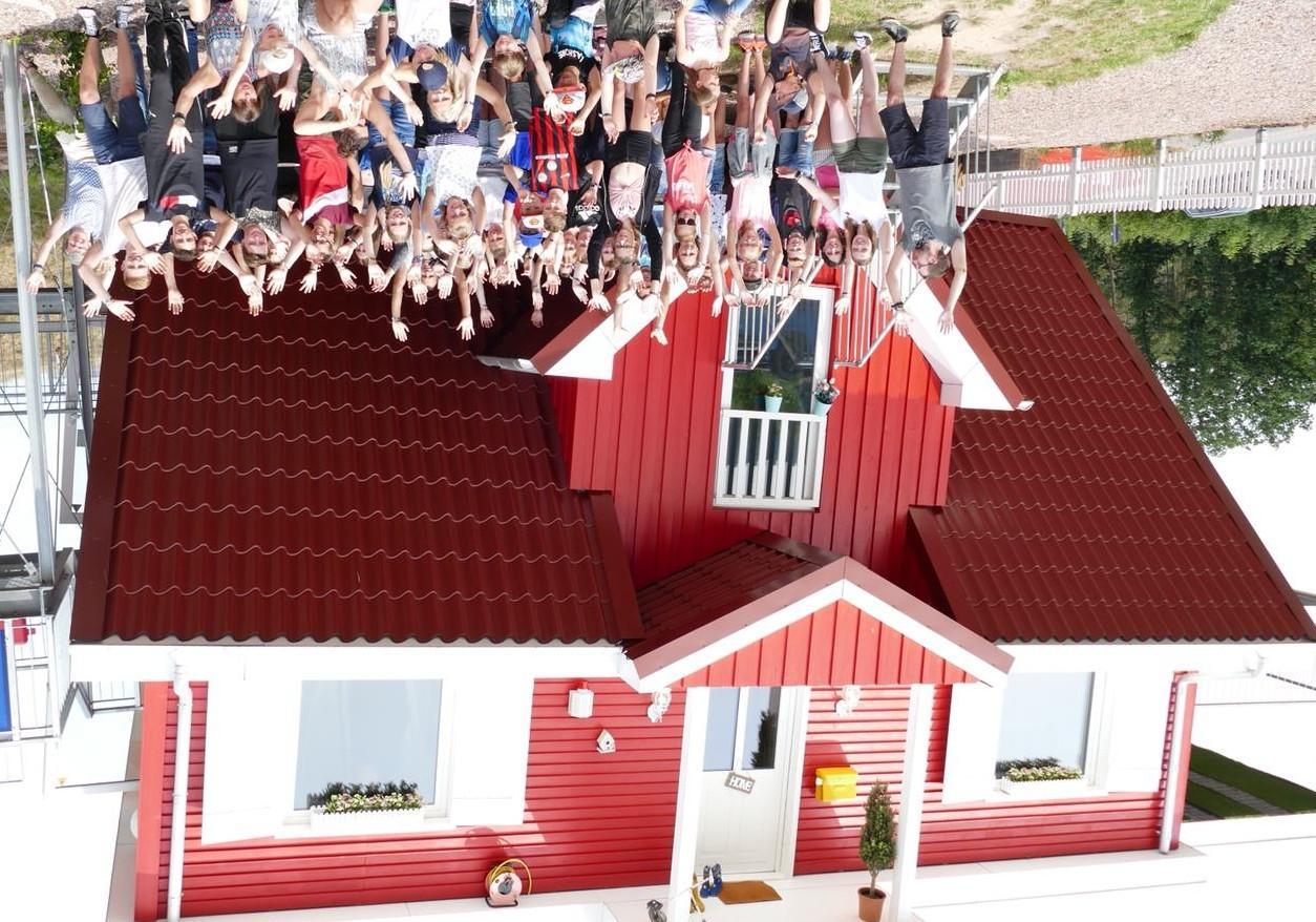Das Lager steht Kopf! Der Besuch in Toppels verdrehter Welt bereitete allen viel Spaß