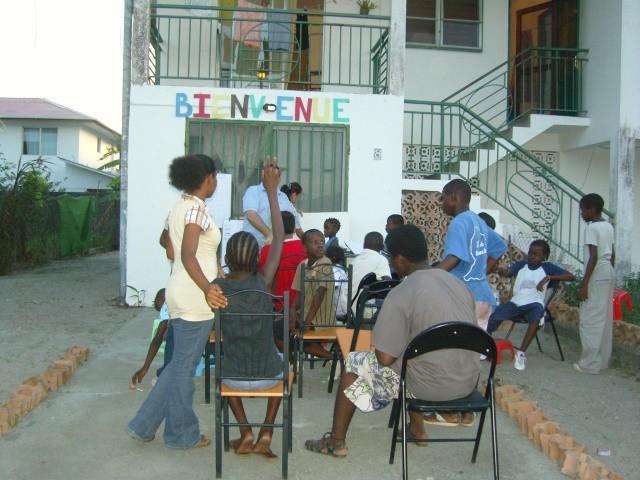 Début des activités du samedi (Septembre 2008)