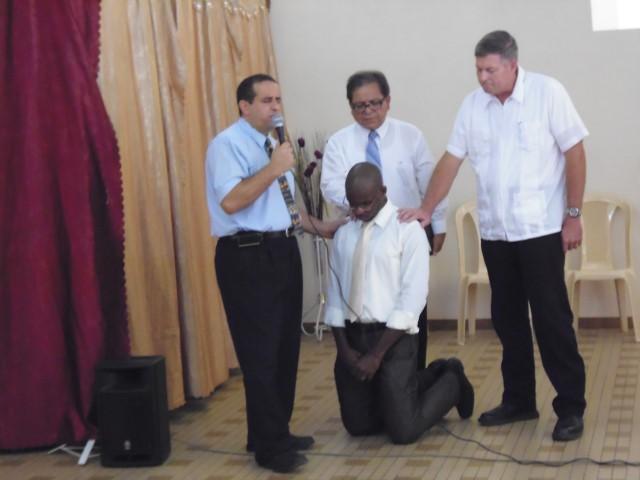 Ordination d'Olivier