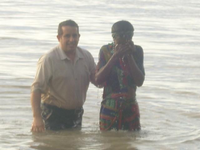 Ilda's baptism (November 2009)
