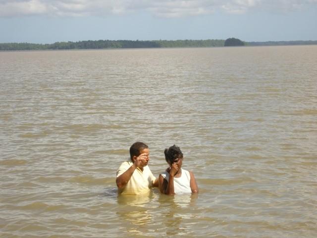 Khadija's baptism (December 2008)