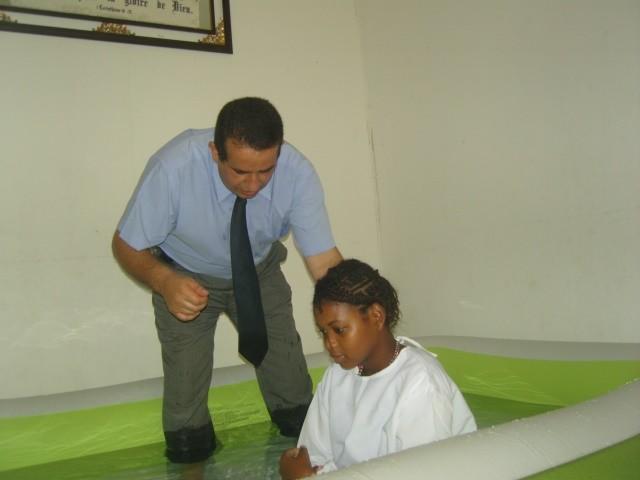 Eudienza baptism