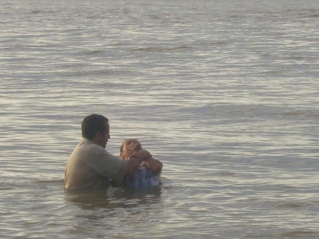 Fernande's baptism (November 2009)